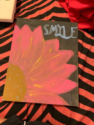 Flower painting for Sale in Massapequa, NY