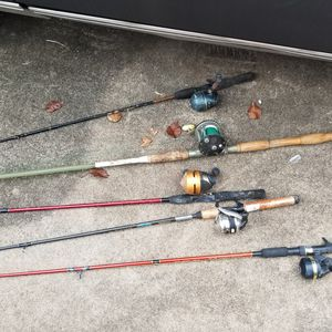 Fishing rods for Sale in Beaumont, TX