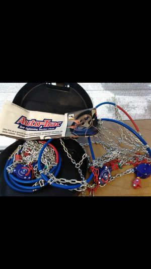 Auto trac self-tightening snow chains passenger/car for Sale in Las Vegas, NV