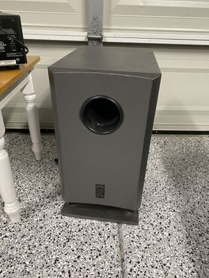 Powered Subwoofer for Sale in Livermore, CA