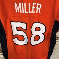 Von Miller Denver Broncos #58 NFL Jersey for Sale in Bakersfield,  CA