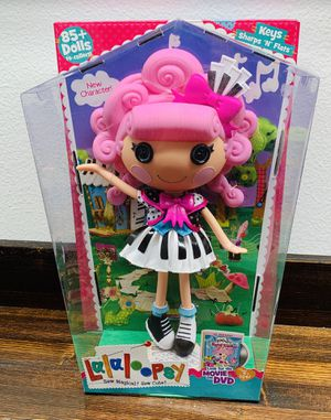 Lalaloopsy Keys Sharps 'N' Flats Full Size Doll for Sale in California City, CA