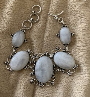 """New moonstone sterling silver 925 bracelet 7-8"""" for Sale in Rolling Meadows, IL"""
