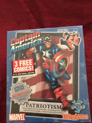 Captain America puzzle for Sale in Hilliard, OH