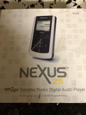 Samsung YP-X5X NeXus 25 XM Ready Digital Audio Player with 25-hour Playback