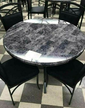 GREAT SALE NEW BEAUTIFUL 5PCS DINNING TABLE SET for Sale in Biscayne Park, FL