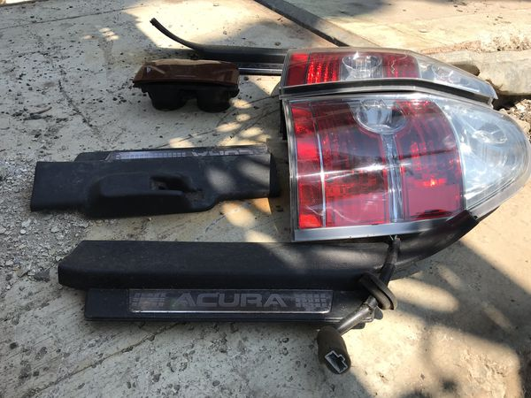 brake rear lights with bulbs for acura 2004