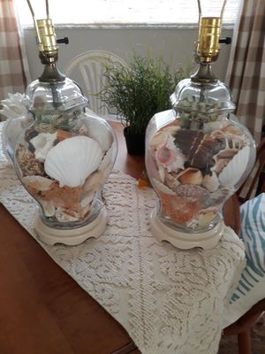 Vintage Palm Beach Style Ginger Jar Lamps for Sale in Lake Worth, FL