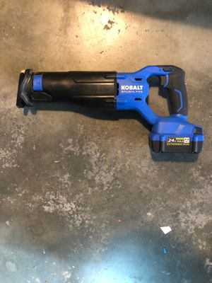 Kobalt reciprocating saw for Sale in San Diego, CA