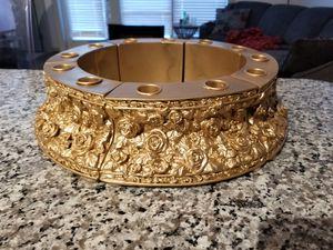 Gorgeous large vintage gold candelabra for Sale in Garland, TX