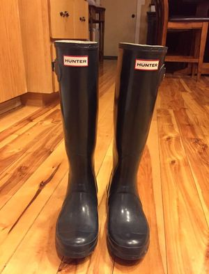 Hunter Original Gloss Rain Boots (Size 6) for Sale in Bend, OR