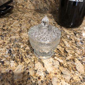 """SMALL """"Sugar"""" Glass Jar for Sale in West Palm Beach, FL"""