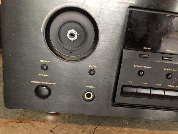 Sony Stereo & Marantz AV surround receiver model# SR7300