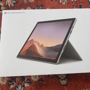 Microsoft Surface Pro 7 Core i5, 128gb, 8gb go ram for Sale in Buena Park, CA