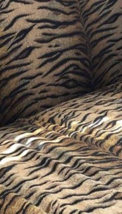 Animal Print Couch In Good Condition for Sale in Webster,  TX