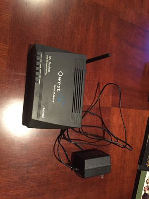 Qwest DSL Modem with wireless gateway for Sale in Monroe, WA