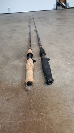 Two fishing fenwick fishing rods for Sale in Bremerton, WA