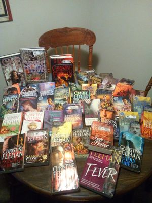 Christine Feehan BOOKS (44) for Sale in Tampa, FL