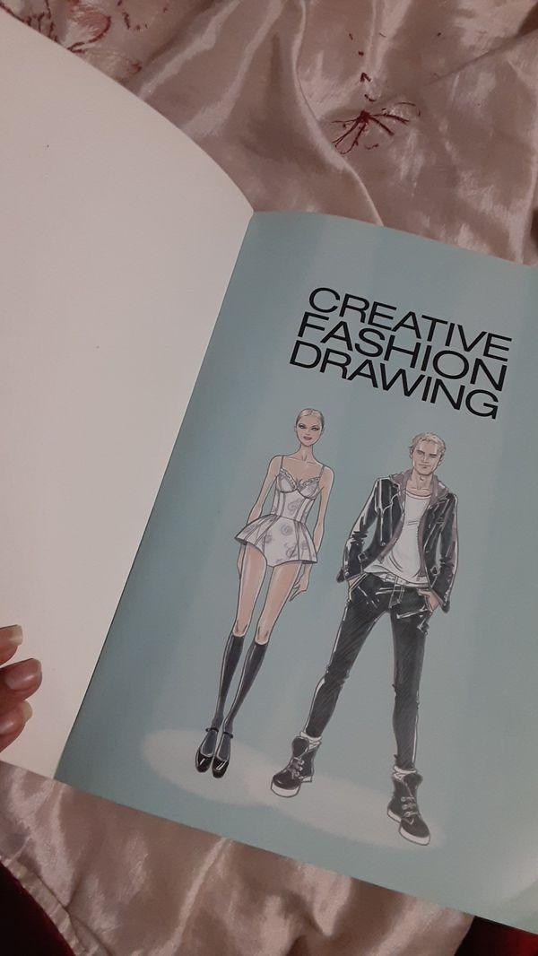 Creative Fashion Drawing Book