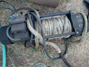 Tjm 12k winch for Sale in Moreno Valley, CA