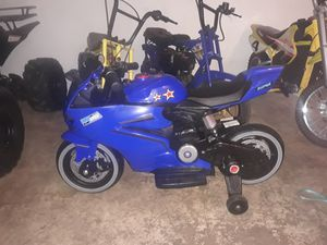 Electric kids street motorcycle for Sale in Miramar, FL