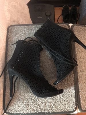 Lace up heels size 8 for Sale in Los Angeles, CA
