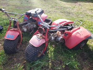 2 Honda ATC 110 3 wheelers projects ATC110 for Sale in Puyallup, WA