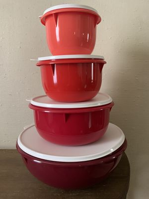 Mixing bowl 4 pcs ${link removed}.tupperware. Pick up only San Jose for Sale in San Jose, CA