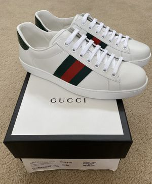 GUCCI - Ace Leather Sneaker for MEN for Sale in Irvine, CA