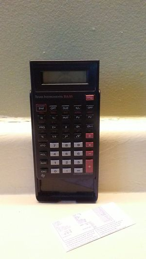 Texas Instruments BA-35 for Sale in Dubuque, IA