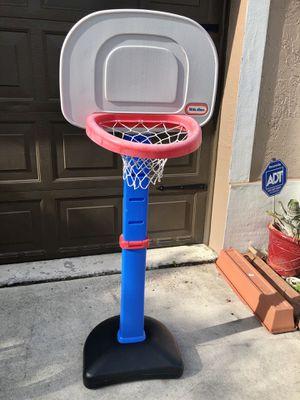 Little tikes kids adjustable basketball hoop for Sale in Davie, FL