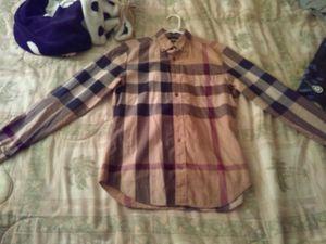Burberry shirt for Sale in Phoenix, AZ