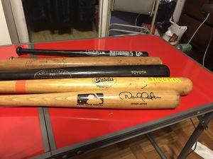Louisville Slugger Baseball Bat Collection for Sale in Lanham, MD