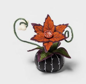 Creepy Decorative Halloween Faux Succulent (Black) - Hyde & EEK! Boutique for Sale in Los Angeles, CA