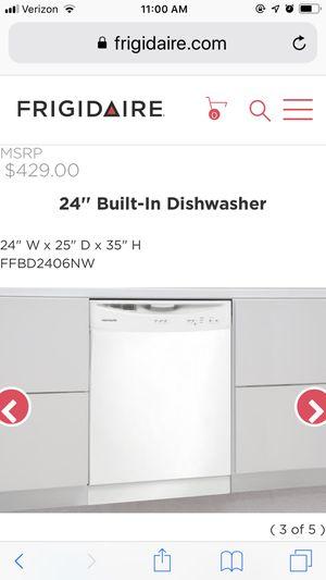Frigidaire Dishwasher (new in box) for Sale in Darrington, WA