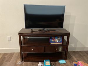 TV STAND ONLY $290 like new for Sale in Houston, TX