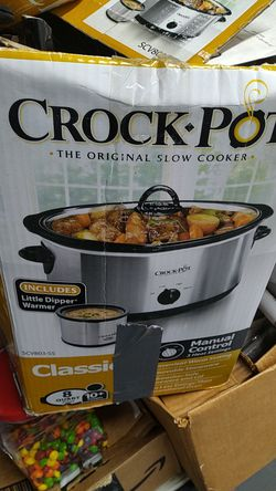 Crock pot slow cooker 7 and 8 quart for Sale in Brooklyn,  NY