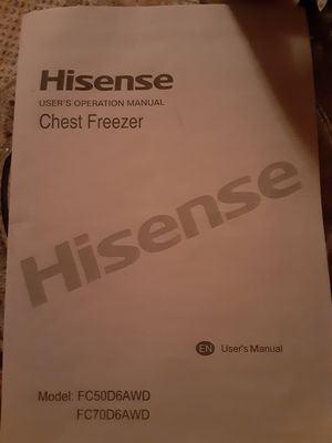 New chest freezer for Sale in Lakeside, AZ