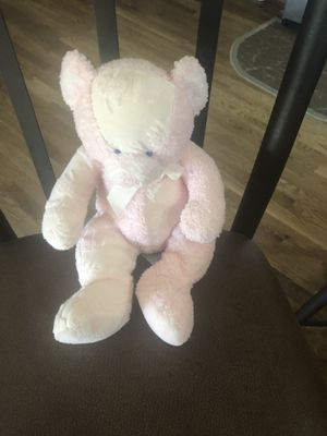 Bear stuffed animal light pink for Sale in Olathe, KS