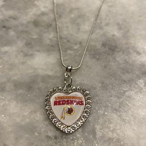 Redskins Necklace for Sale in Arlington, VA