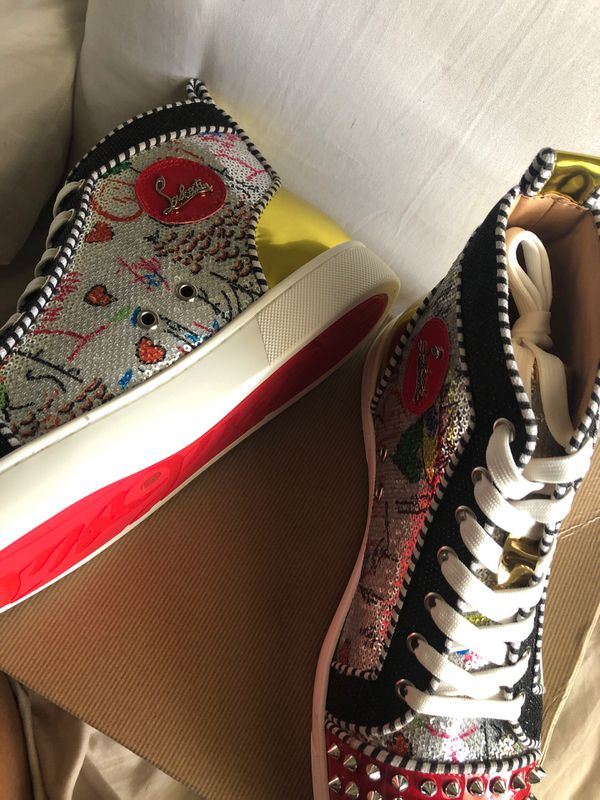 NEW Red Bottoms Designer Sneakers