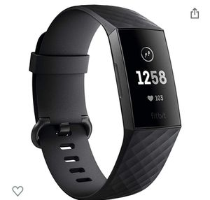 Fitbit Charge 3 Black With Bonus Band for Sale in Mount Rainier, MD