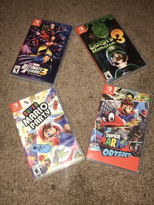 Nintendo Switch Games RARE for Sale in Kennesaw, GA