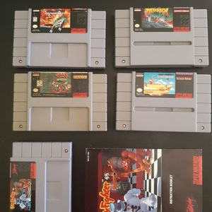 SNES 5 Game Lot - Clay Fighter, Arkanoid... for Sale in Phoenix, AZ