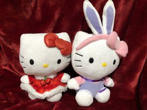 Hello Kitty Christmas and Easter plush lot sale for Sale in Phoenix, AZ