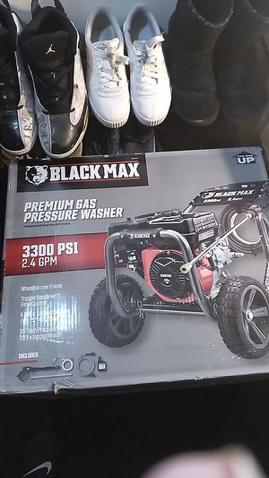 Black max premium gas pressure washer obo for Sale in Cottonwood Heights, UT