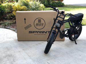 Stylish electric bike Erider Sprint ebike for Sale in Miami, FL