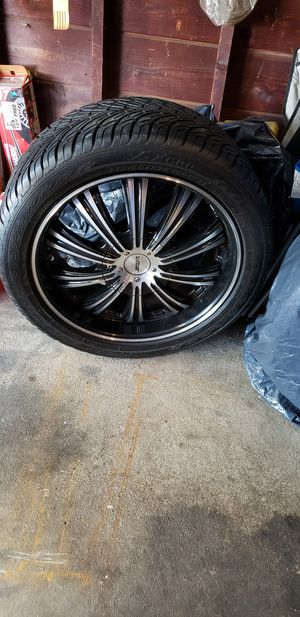 Tired and rims for Sale in Garfield, NJ