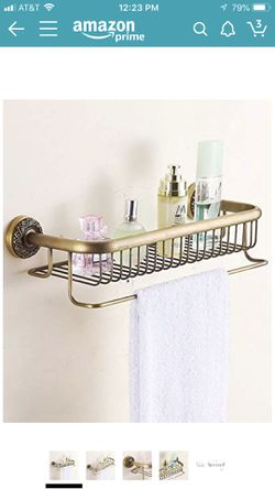 Solid Brass Bathroom Shelve for Sale in Queens,  NY