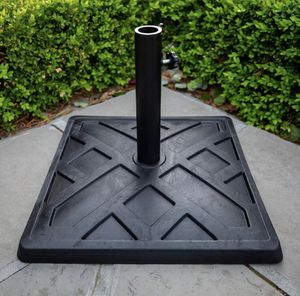 Square Metal Patio Umbrella Base in Black for Sale in Plano, TX